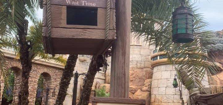 Disney low crowds wait times