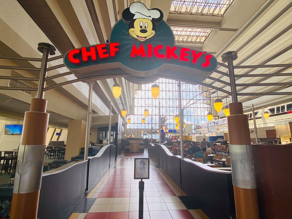 Mofified Chef Mickey's