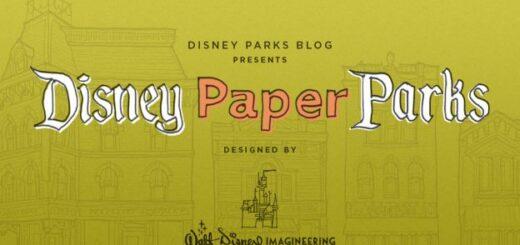 Disney Paper Parks