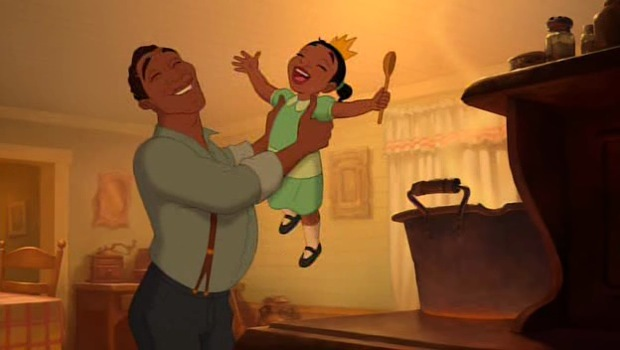 Tiana's father