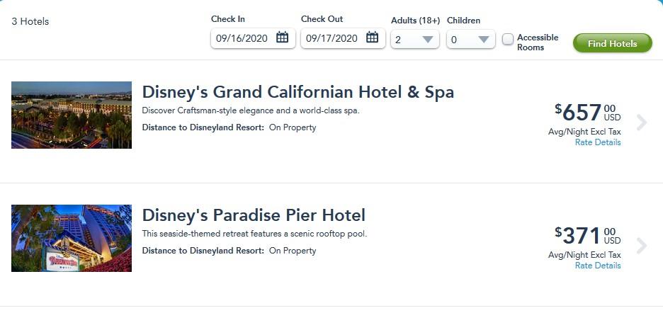 Disneyland September