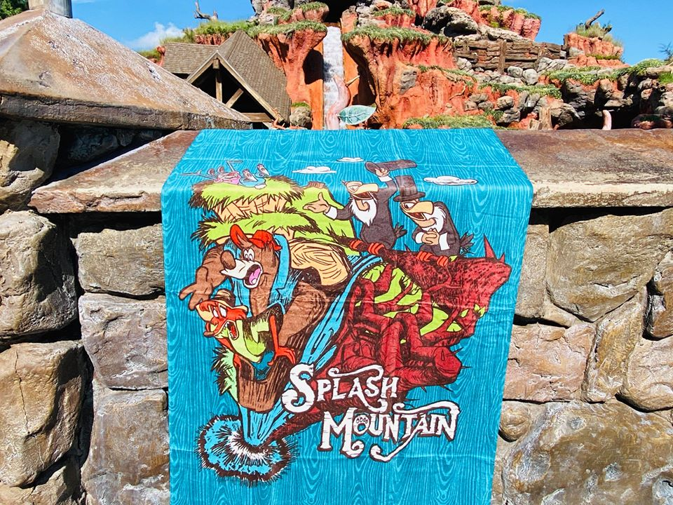 Splash Mountain towel