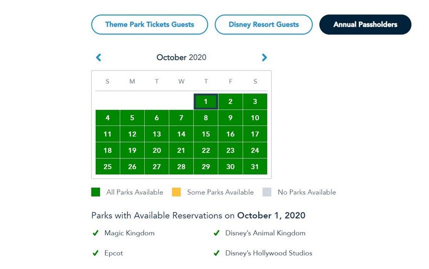 Passholder Park Pass