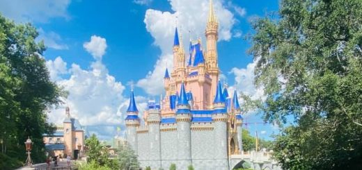 Disney World entrance signs