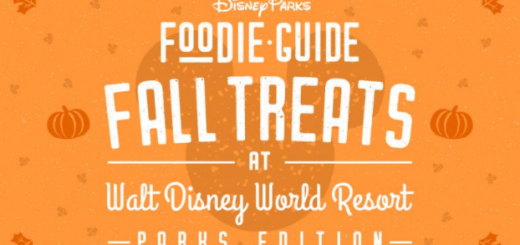 Disney Fall Foodie Guide