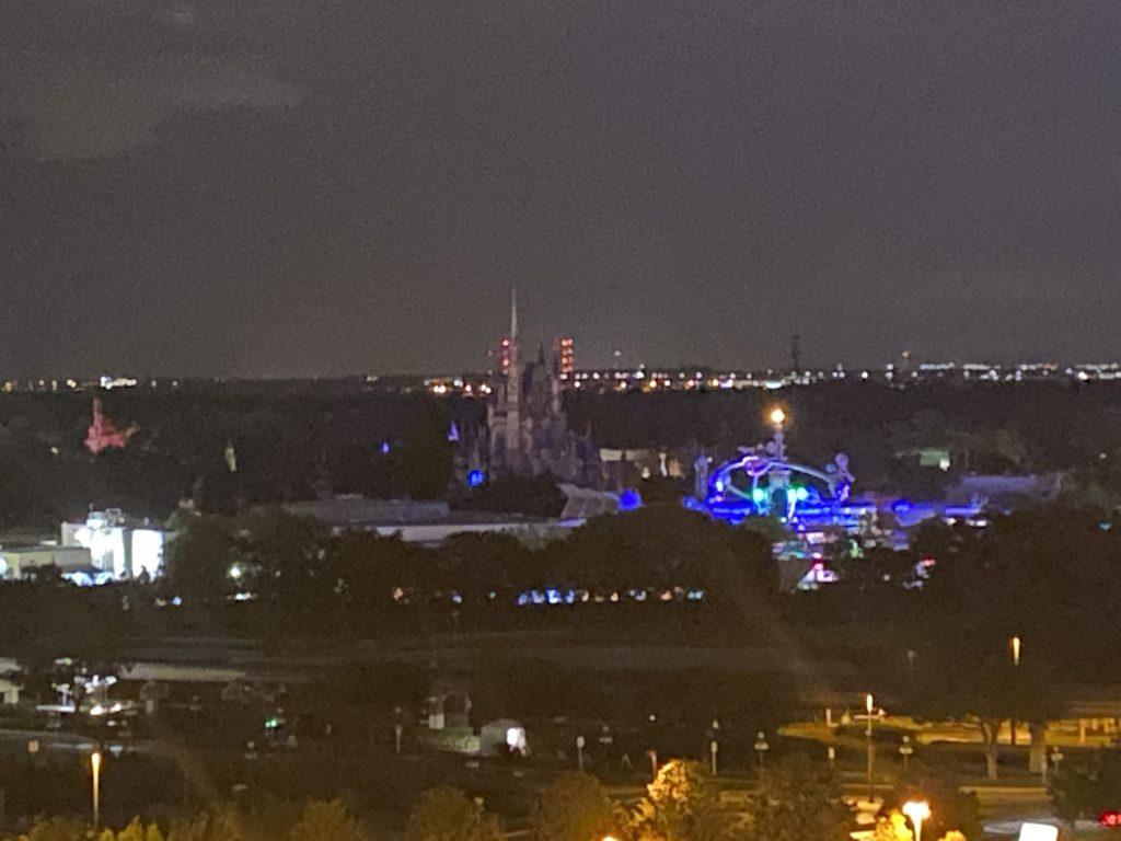 Nighttime Cinderella Castle