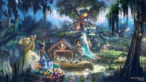 Splash Mountain, Song of the South