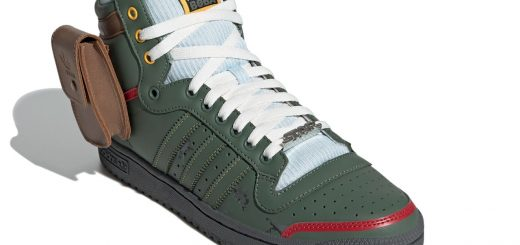 Boba Fett Top Ten Hi. Image: Adidas