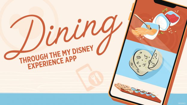 My Disney Experience dining