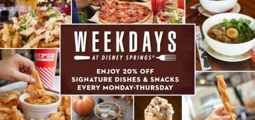 Weekdays at Disney Springs