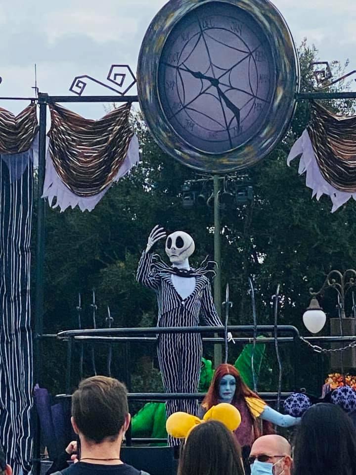 Halloween Magic Kingdom