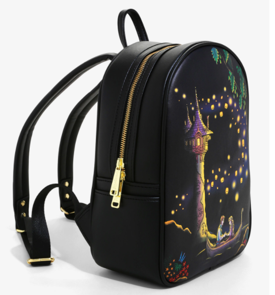 Loungefly Disney Tangled Lanterns Light Up Mini Backpack Available For Pre Order Exclusively At Boxlunch Mickeyblog Com
