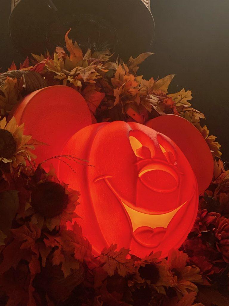 pumpkin, mickey