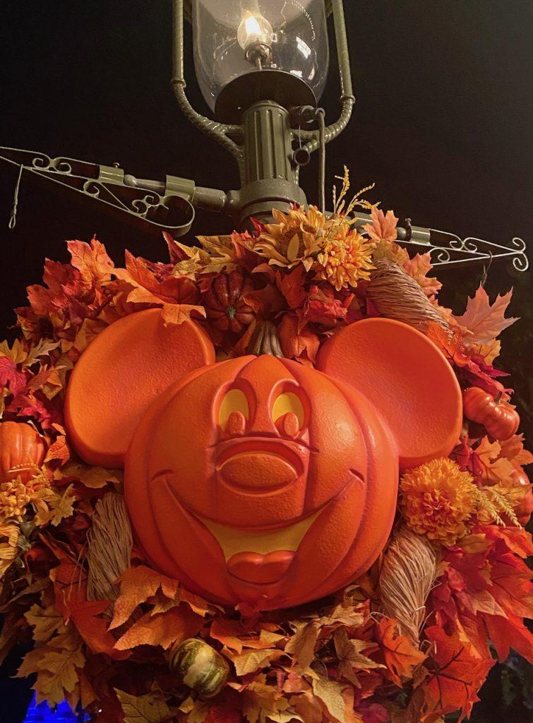 pumpkin, mickey, halloween, decorations