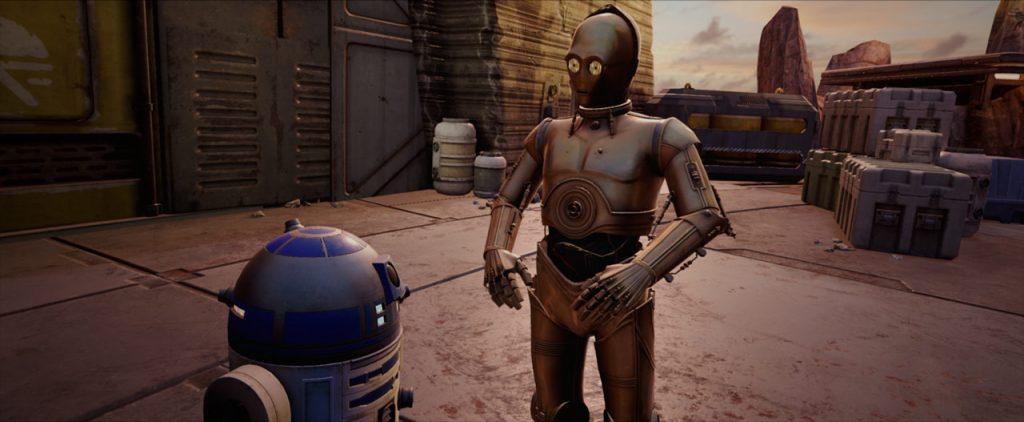 R2D2, C3PO