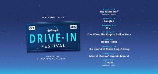 Disney+ Drive-in Festival