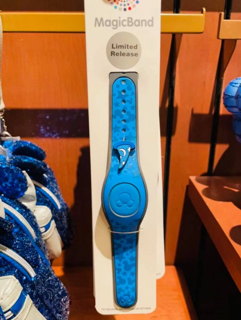 """""""Wishes Come True Blue"""" MagicBand"""