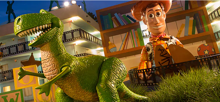 Toy Story Disney's All-Star Movies resorts