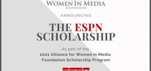 ESPN Women Media Scholarship