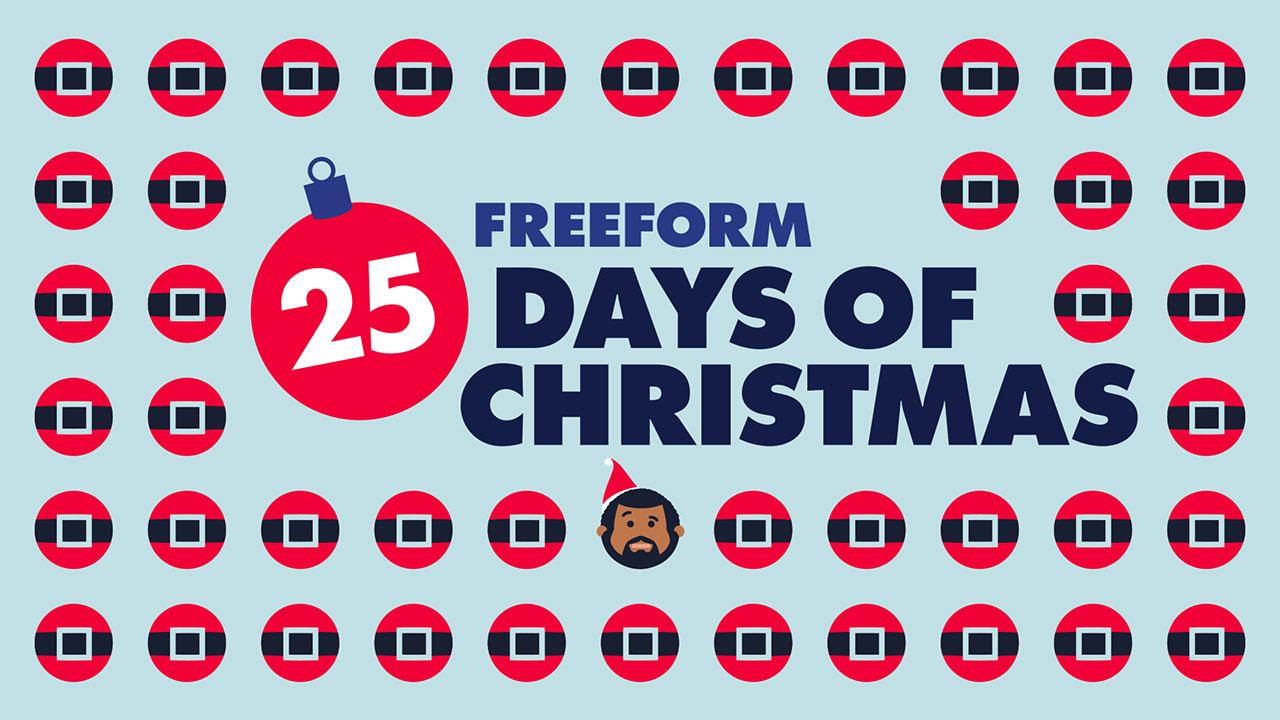 Freeform 25 Days Of Christmas Schedule 2021 Freeform Releases 25 Days Of Christmas Schedule For December Mickeyblog Com