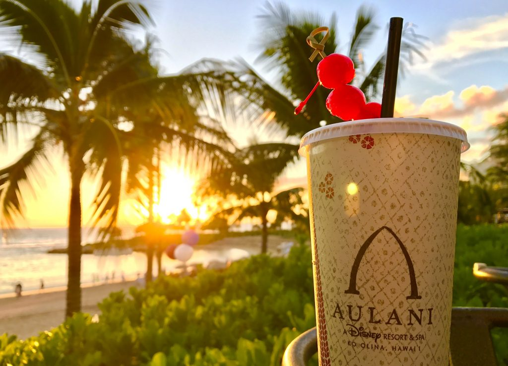 Aulani Sunset Soda