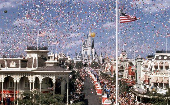 Magic Kingdom Opening Day