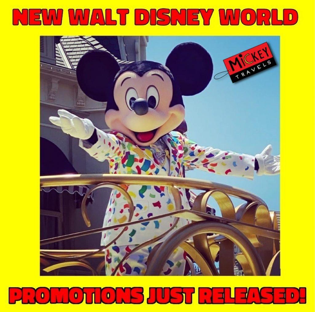 New Disney World Promotions