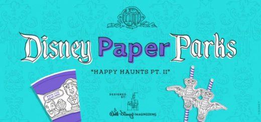 Disney Paper Happy Haunts