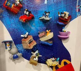 McDonald's Disney World toys