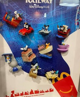 Mcdonalds 2020 Christmas Toy Line McDonald's Releases A New Line of Toys Featuring Your Favorite