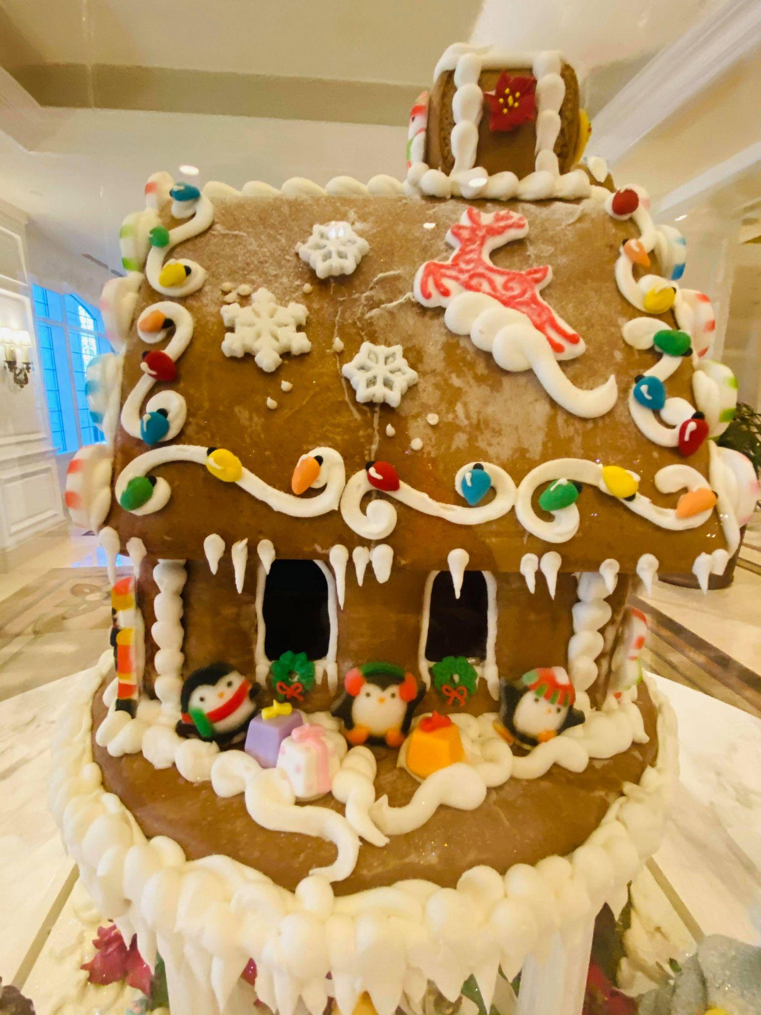 Gingerbread display Grand Floridian