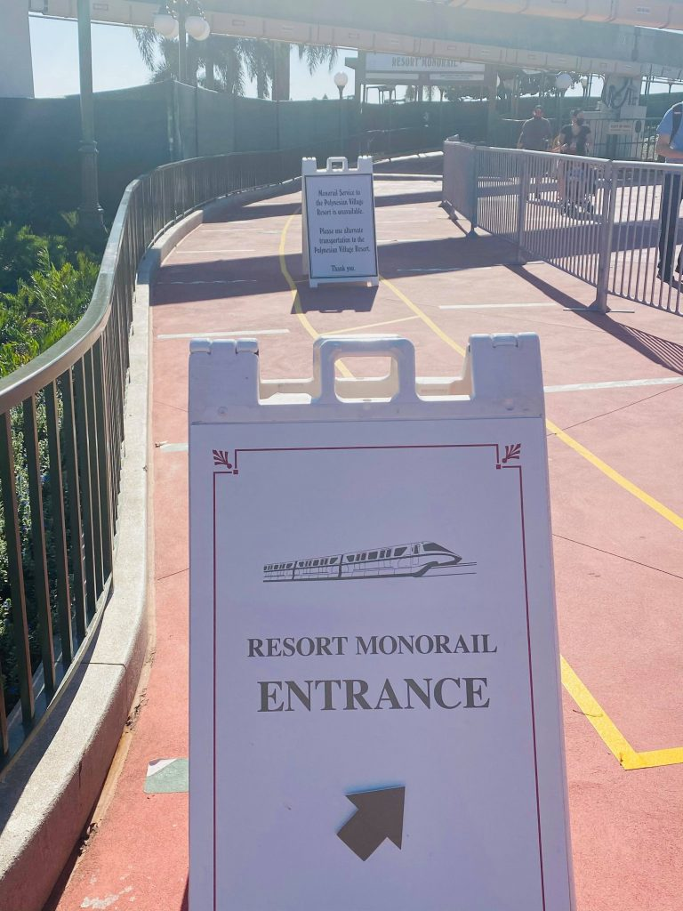 Monorail Signage