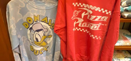 Donald Duck and Pizza Planet Sweatshirts