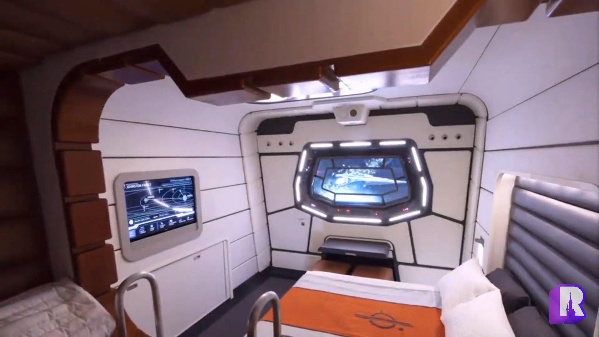 Star Wars Galactic Starcruiser Cabins
