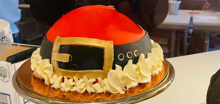 Amorette's Santa Mickey Cake