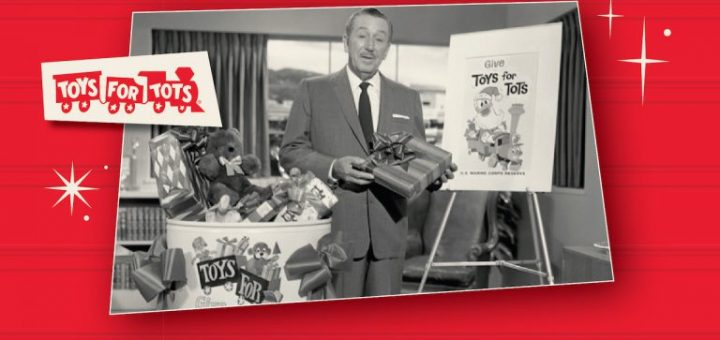 Disney's Toys For Tots Campaign