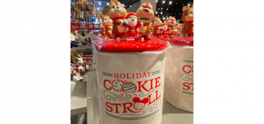 Holiday Cookie Stroll Jar