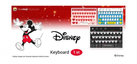 Disney Character Keyboard Skins