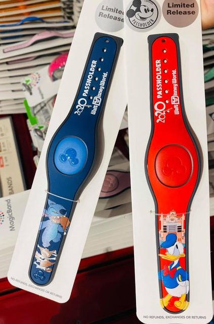 Annual Passholder MagicBand Designs