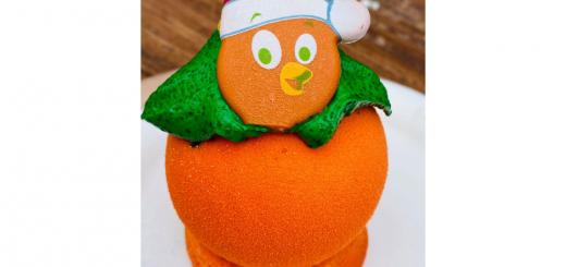 Orange Bird Christmas