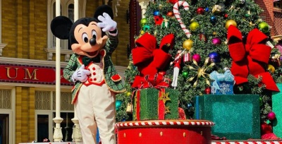 Main Street Mickey Christmas
