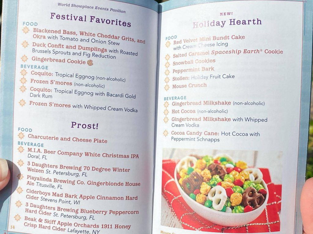 BREAKING NEWS: Take a First Look at the Festival of the Holidays Passport - MickeyBlog.com