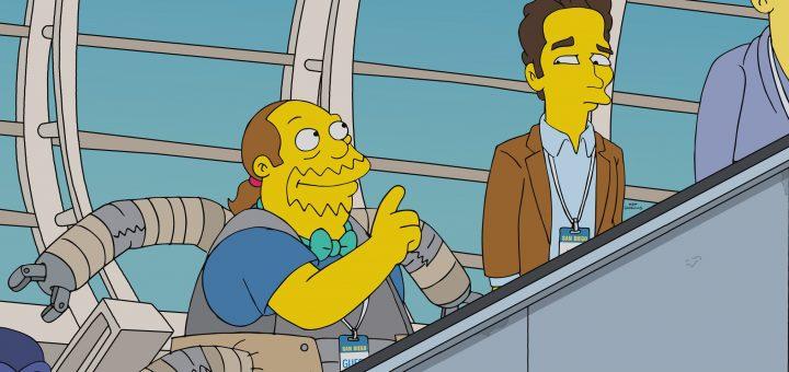 Paul Rudd in The Simpsons