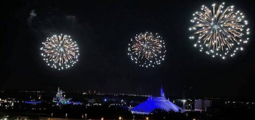 Magic Kingdom Fireworks Testing