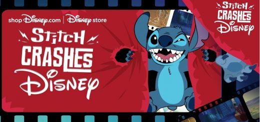 Stitch Crashes Disney