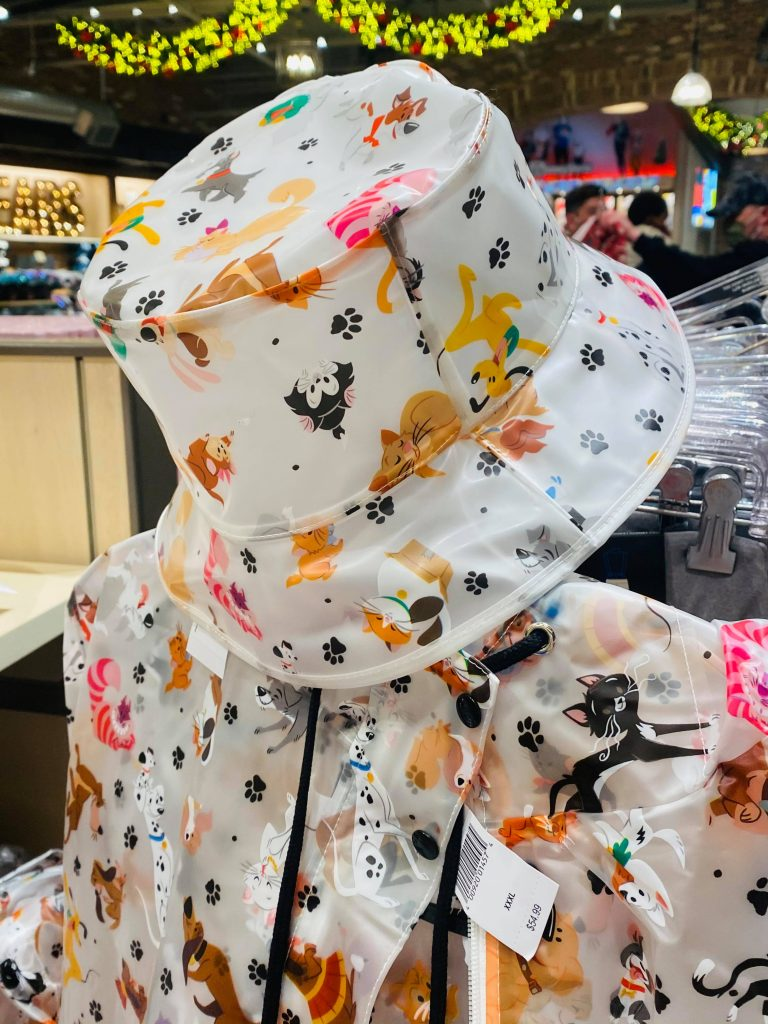 Cats and Dogs Rain Jacket and Bucket Hat