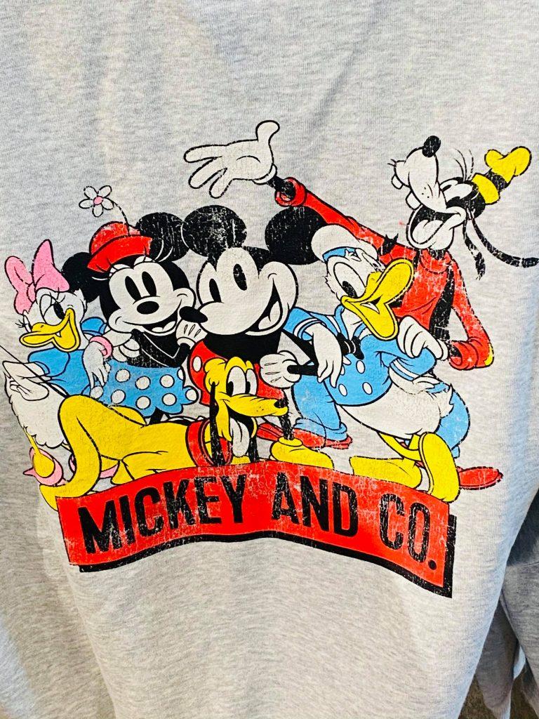 Mickey and Co Light Grey Sweatshirt