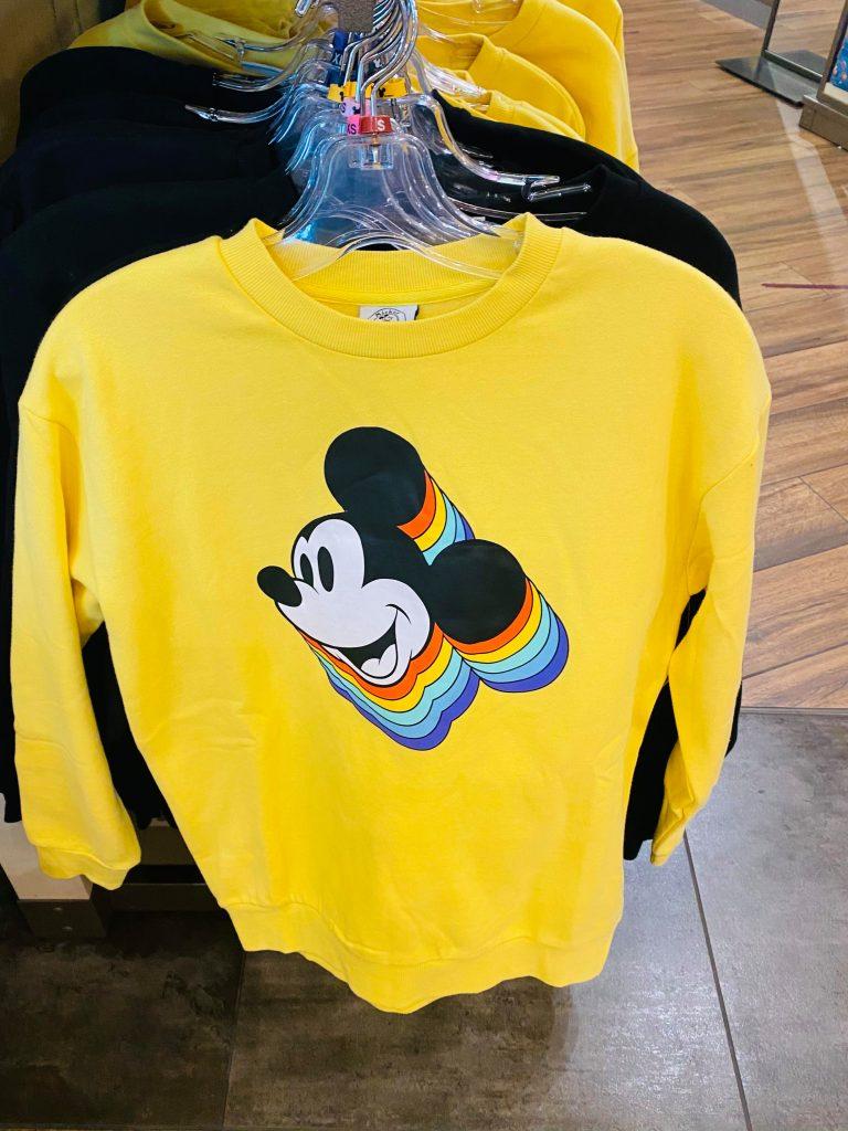 Mickey Yellow Sweatshirt