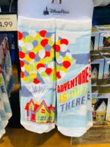 Up Adventure is out there socks
