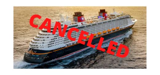 Disney Cruise Cancels June